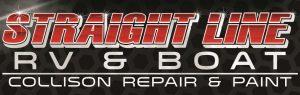 Straight Line RV & Boat Logo