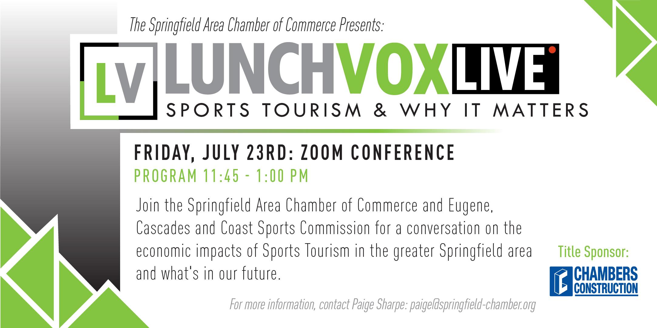 Lunchvox LIVE Sports Tourism