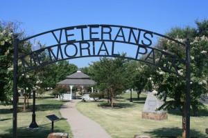 Princeton Veterans memorial park