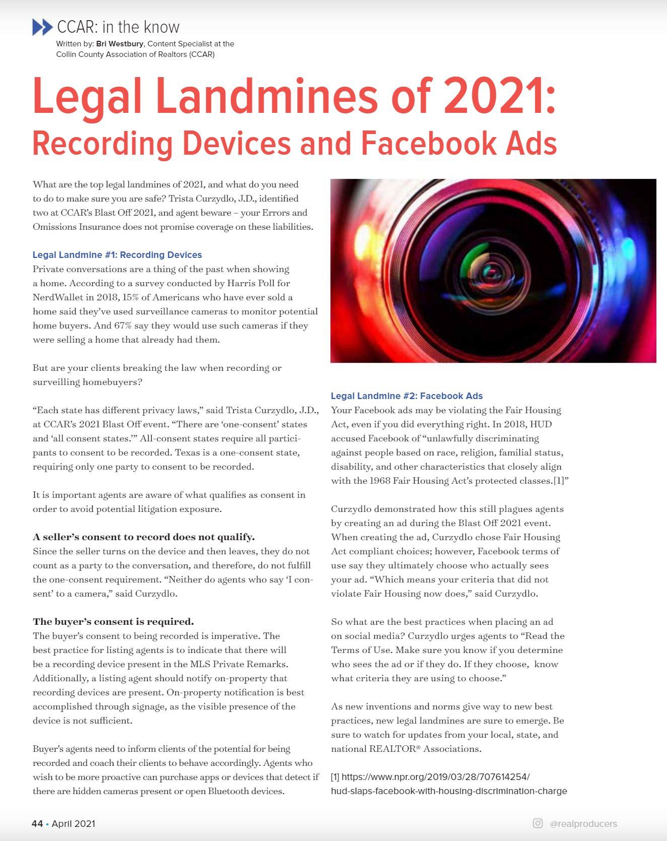 Legal Landmines