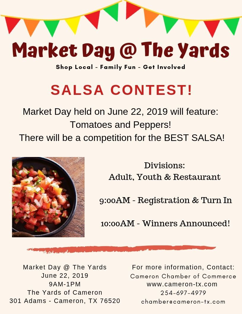 Salsa Contest Flyer