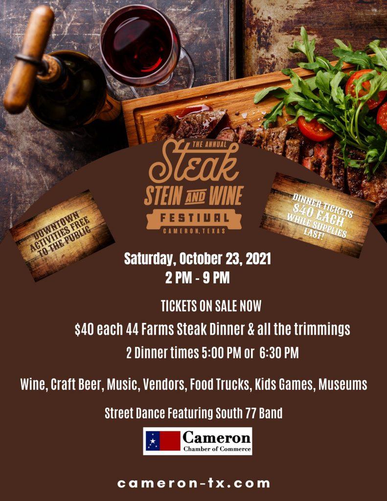 Steak, Stein and Wine Festival