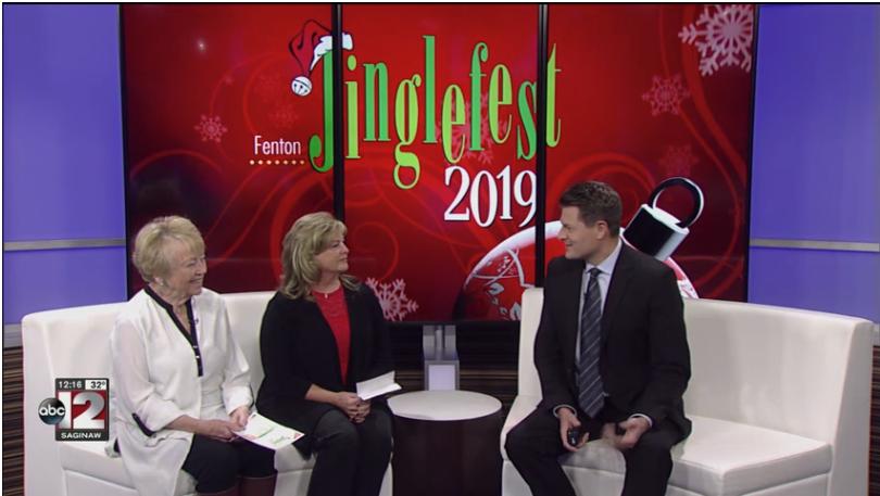 Jinglefest TV interview
