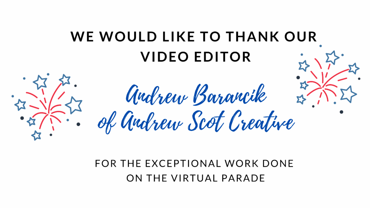 We would like to thank our video editor _1_