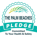 The Palm Beaches PLEDGE Logo