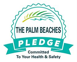 The Palm Beaches PLEDGE Logo