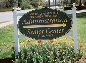 Senior Center Sign
