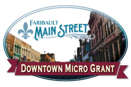 Faribault Main Street Downtown Micro Grant logo