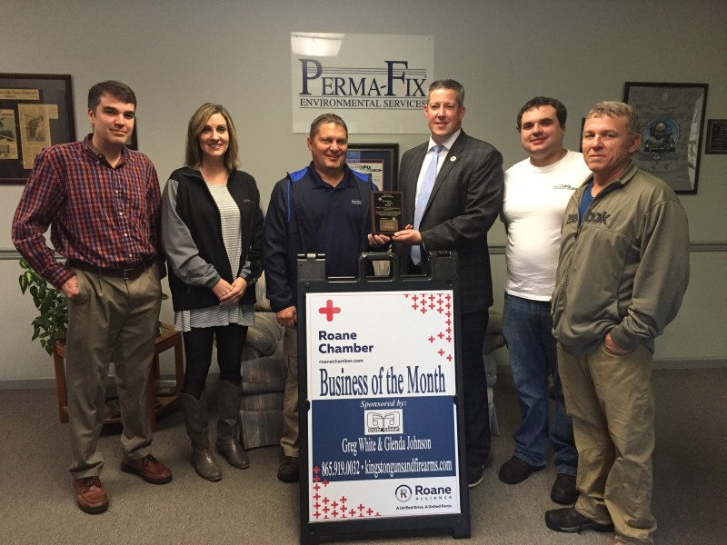 November 2017 Business of the Month - Perma-Fix Environmental Services, Inc.