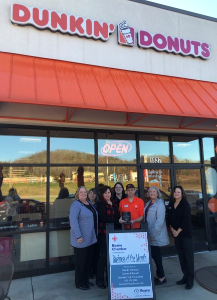 December 2018 Business of the Month - Dunkin' Donuts