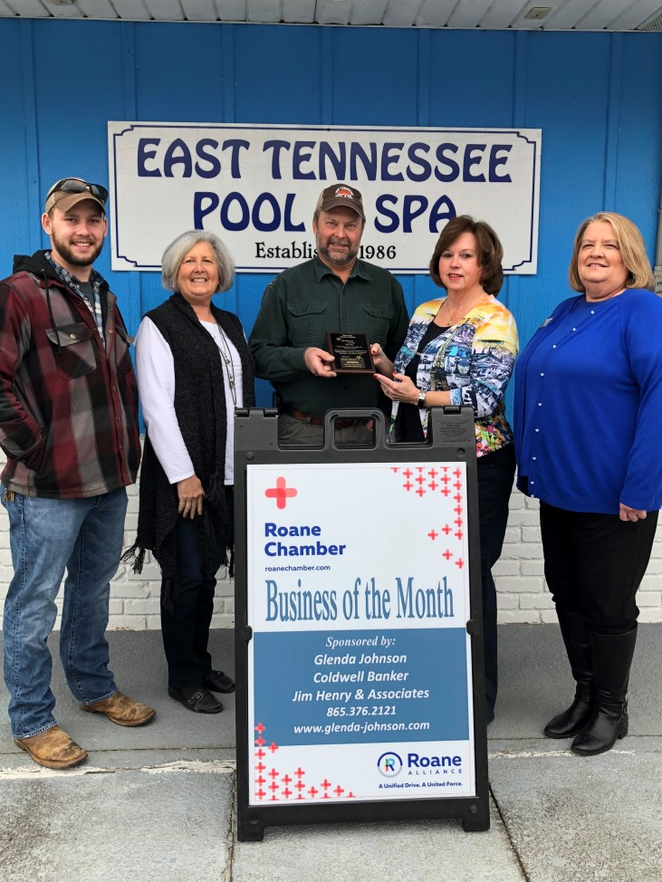 February 2018 Business of the Month - East Tennessee Pool & Spa, Inc. - Harriman