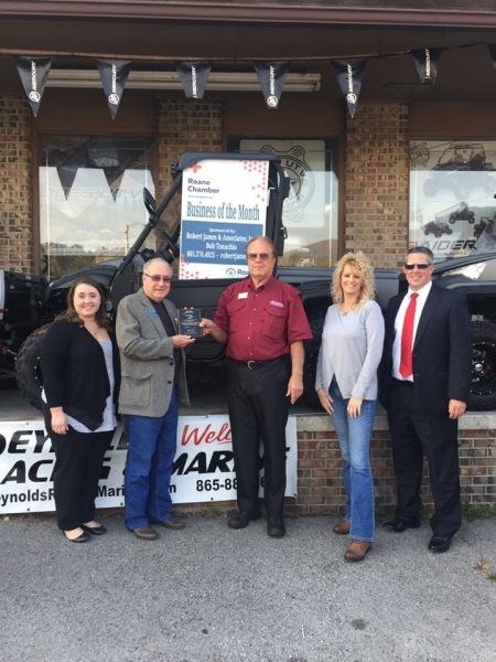 November 2016 -Reynolds Racing & Marine, Inc. - 1019 South Roane Street, Harriman