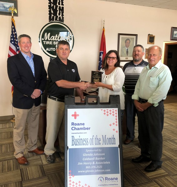 September 2018 Business of the Month - Matlock Tire Service & Auto Repair