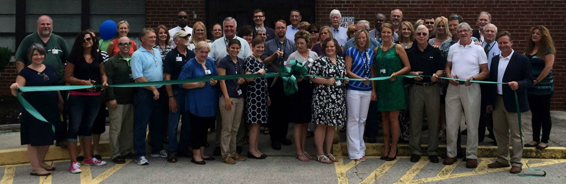 Ridgeview ribbon cutting