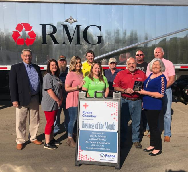May 2018 Business of the Month - Roane Metals Group, LLC - Rockwood