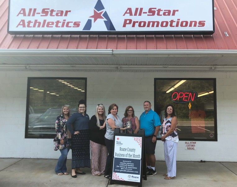 August 2019 Business of the Month - All-Star Promotions