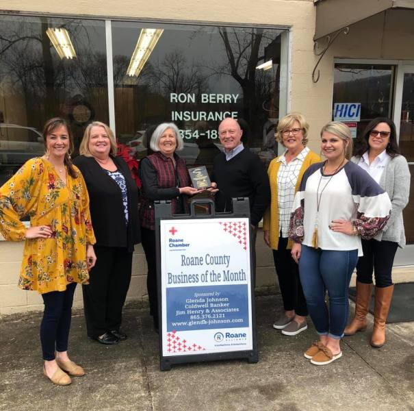 February 2019 Business of the Month - Ron Berry Insurance
