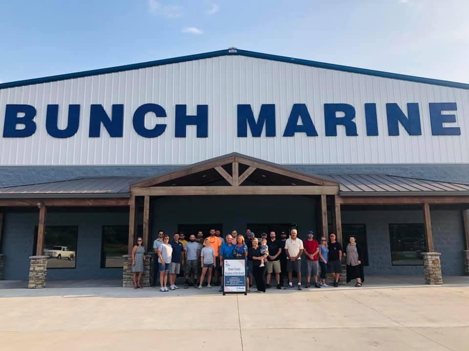 August 2020 - Bunch Marine 1640 Roane State Hwy, Harriman TN