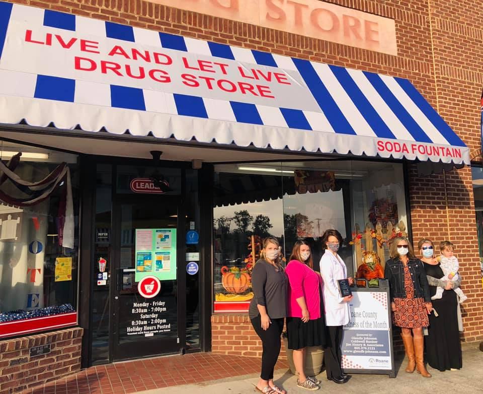October 2020 - Live & Let Live Drug Store 225 W Rockwood St, Rockwood TN