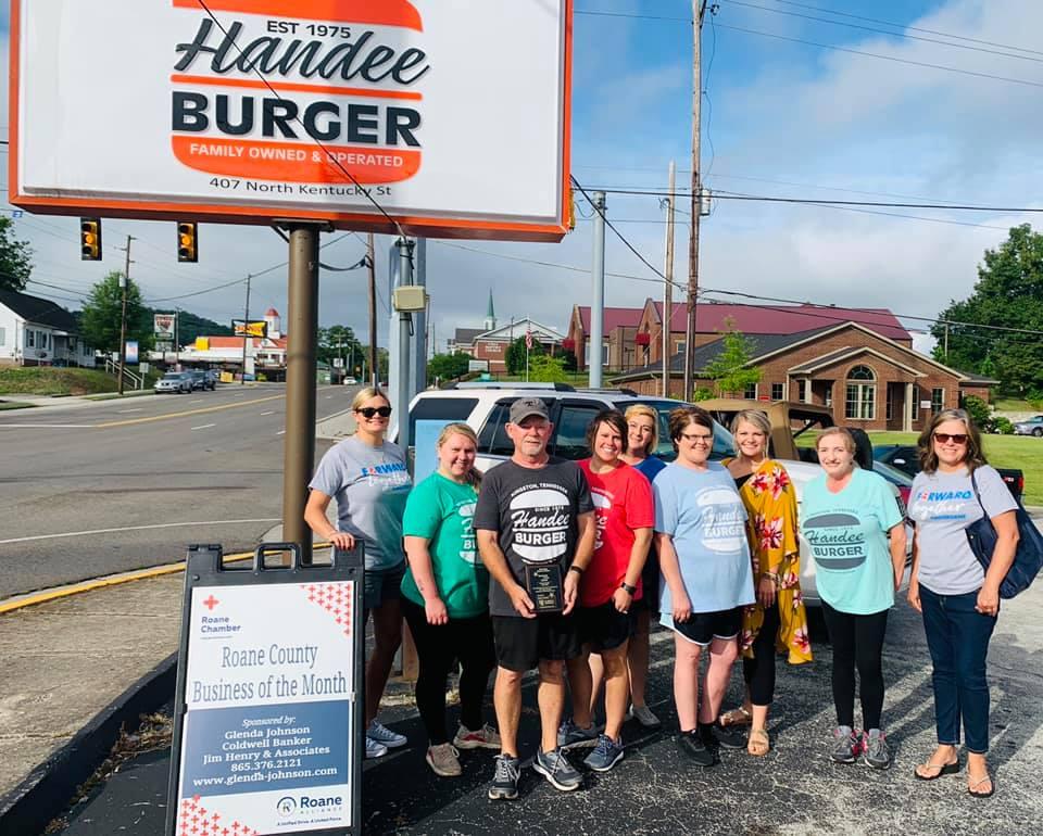 July 2020 - Handee Burger 407 N. Kentucky St. Kingston, TN