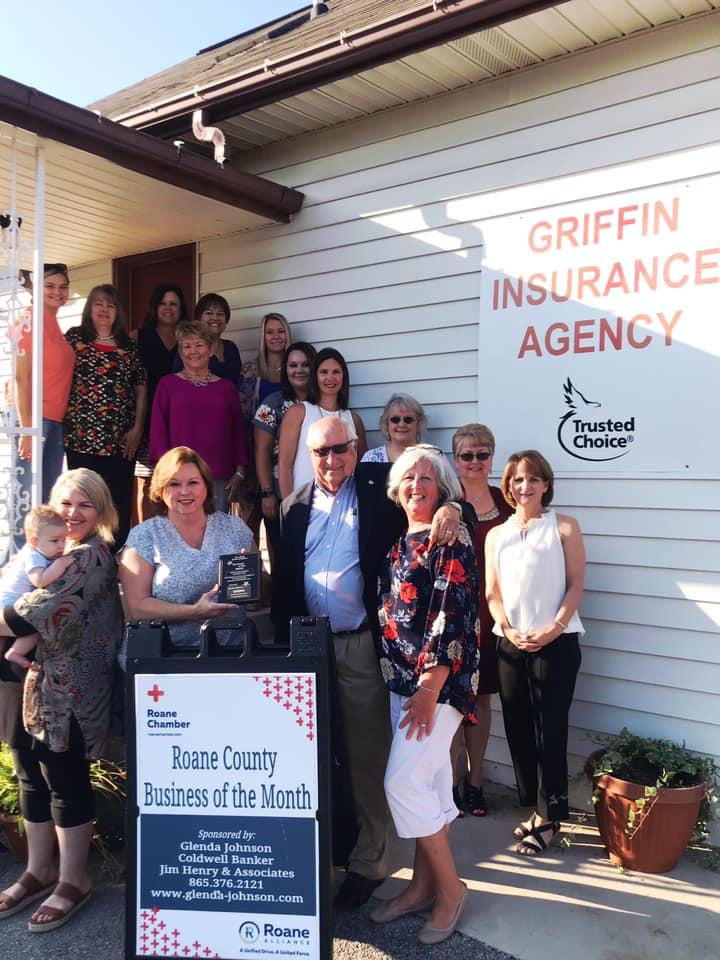 September 2019 - Griffin Insurance Agency 414 N. Kentucky St. Kingston, TN