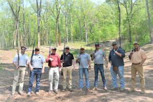 Young Agents at Clay Shoot