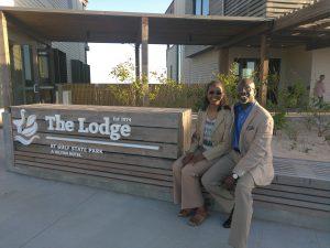 Michael & Ardella at The Lodge