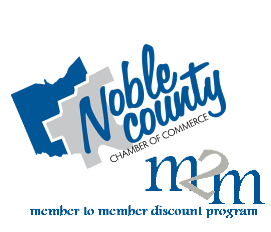 Noble County M2M logo