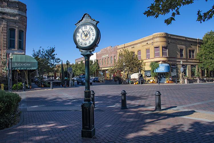 Buckhorn Clock