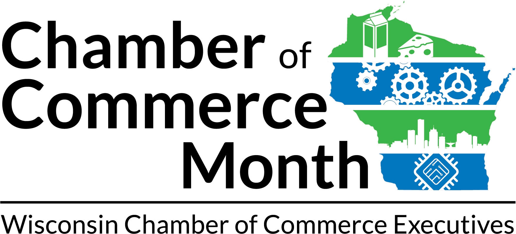 Chamber of Commerce Month Logo