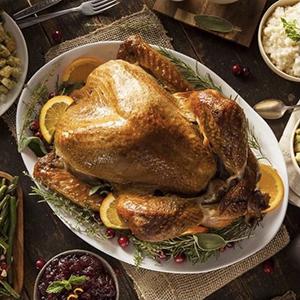 DeCiccos turkey on platter
