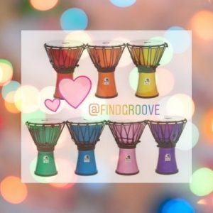 Groove - colorful drums