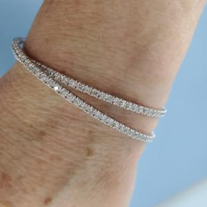 Wallach Jewelry diamond tennis bracelets