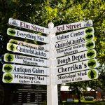 Kimmswick Town Sign