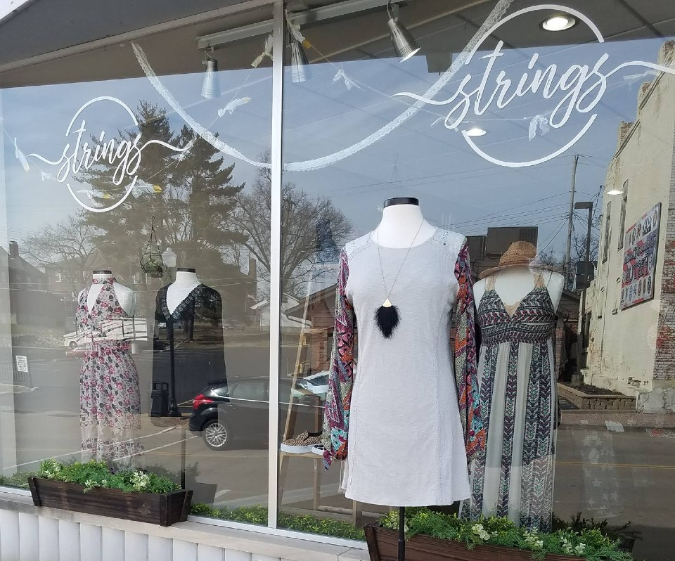 strings clothing store