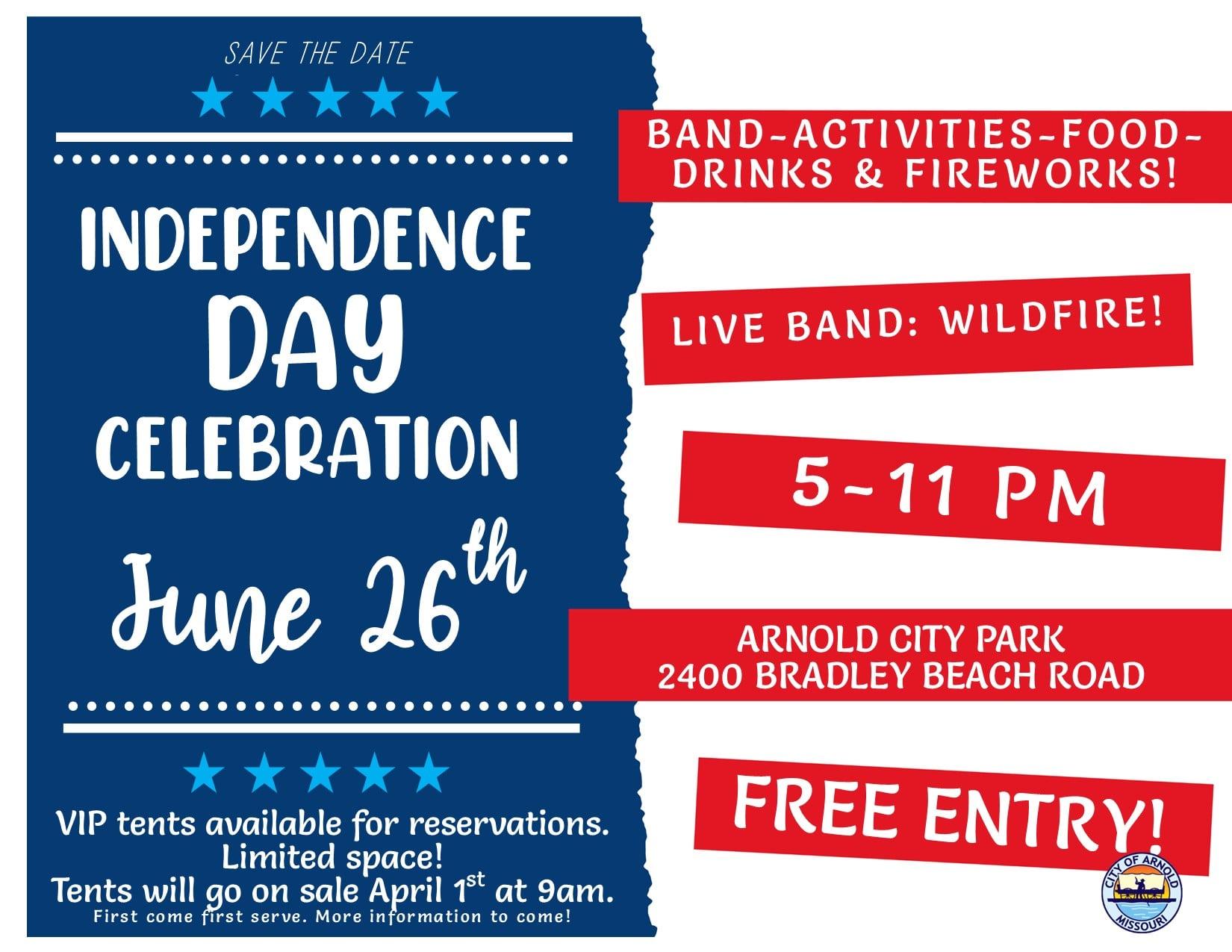 Arnold Independance Day Celebration