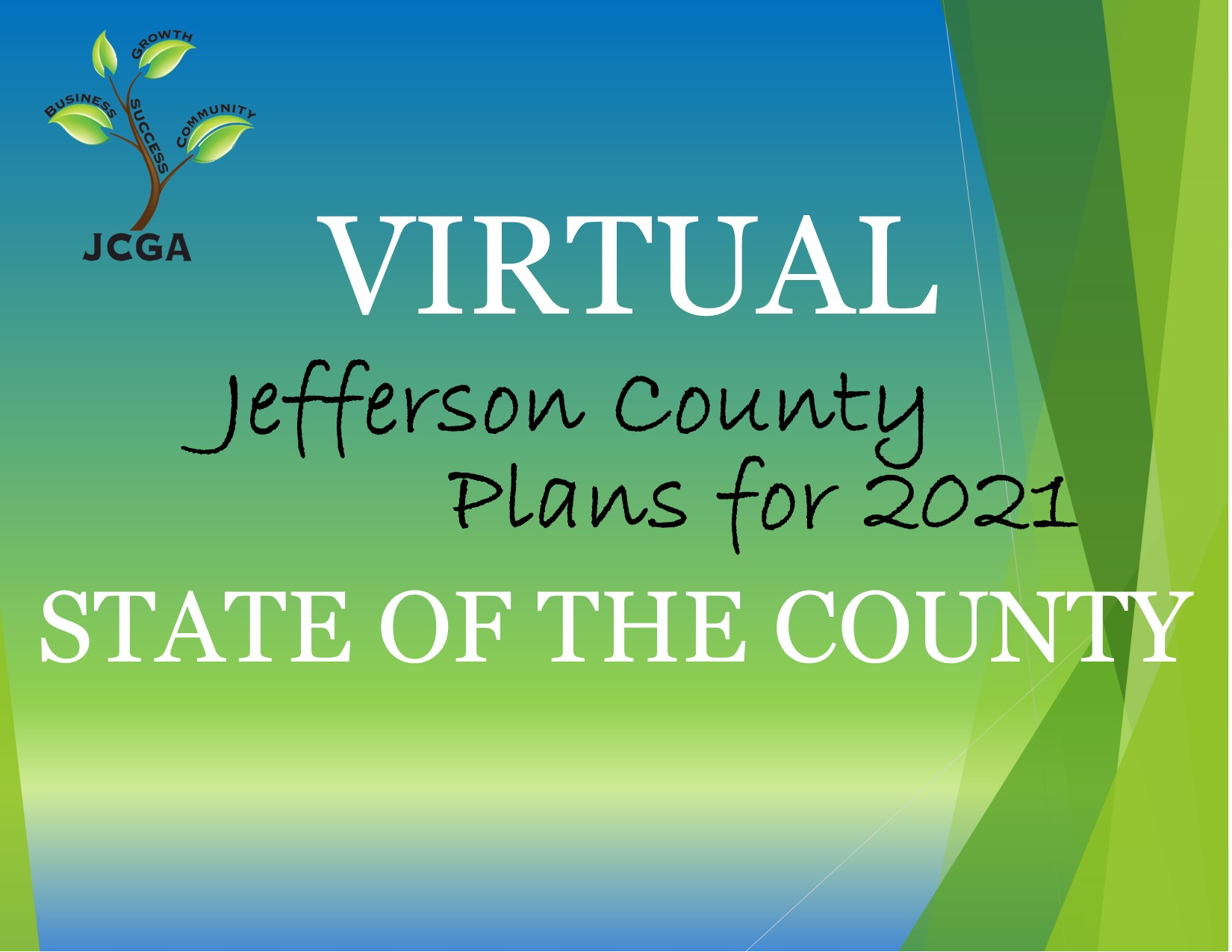 Jefferson County Plans for 2021