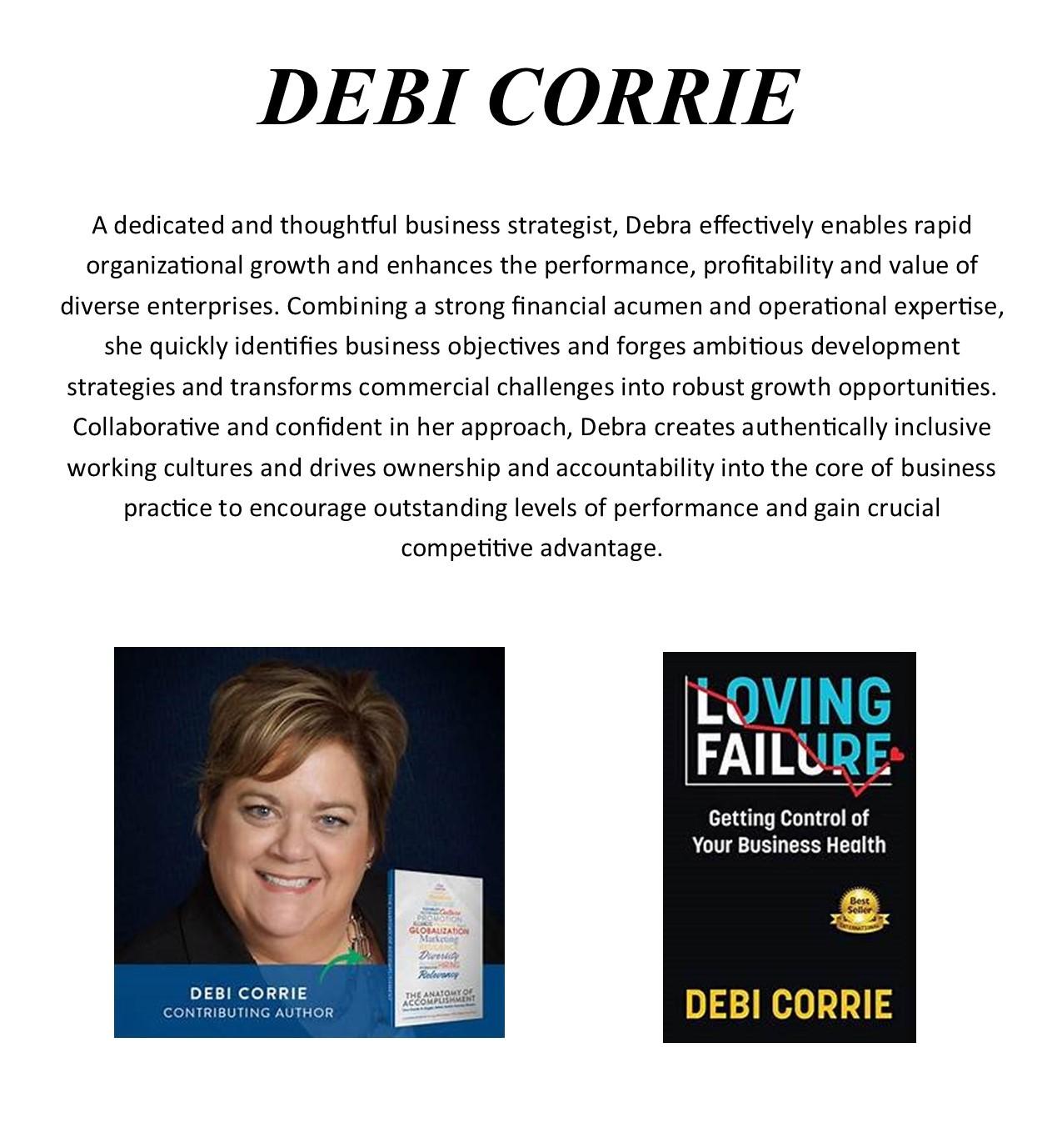 Bio - Debi Corrie