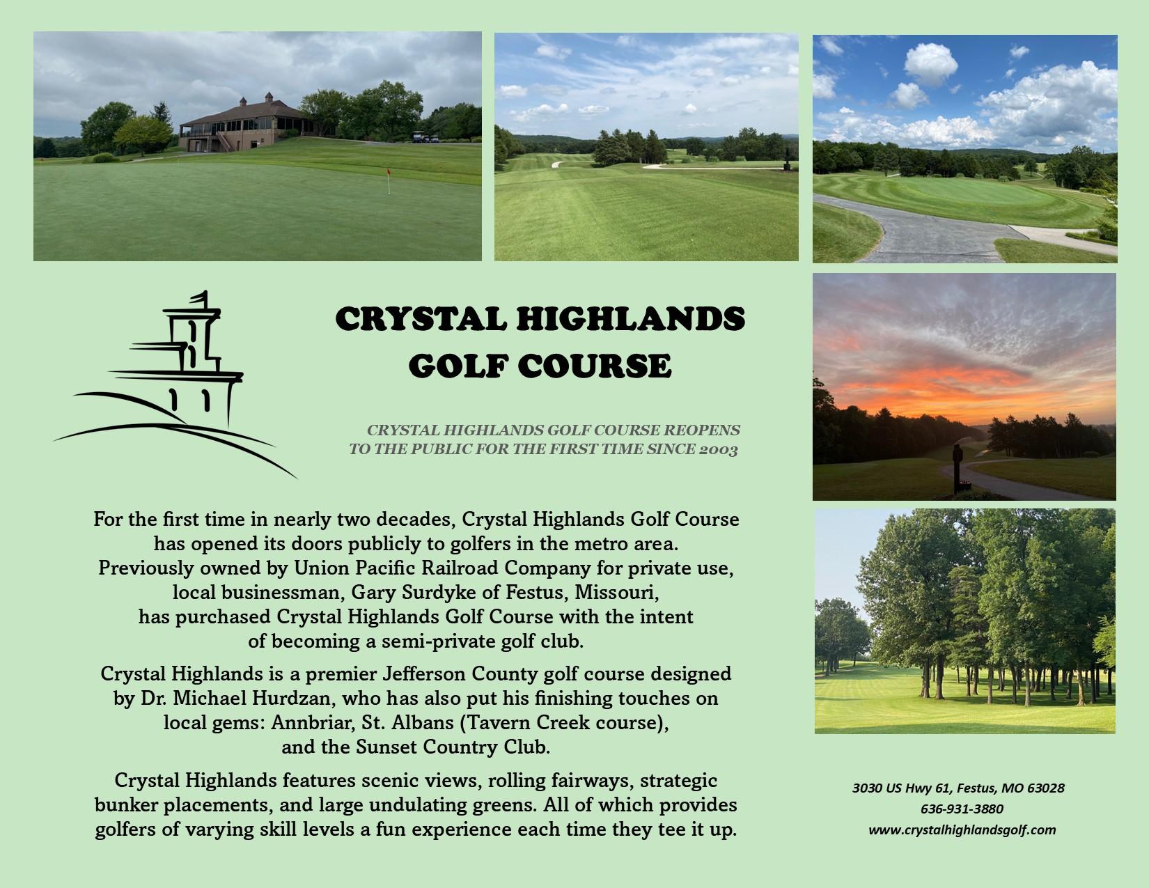 Crystal Highlands Golf Course