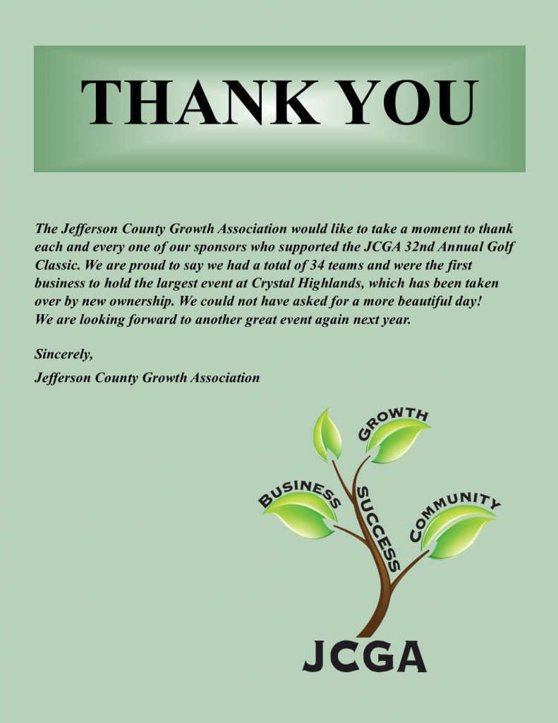 Thank you Golf Classic 2021 a