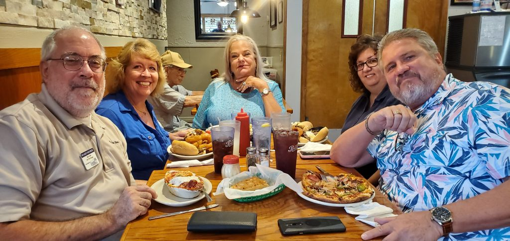 Ambassador Lunch at Luigis Pizza