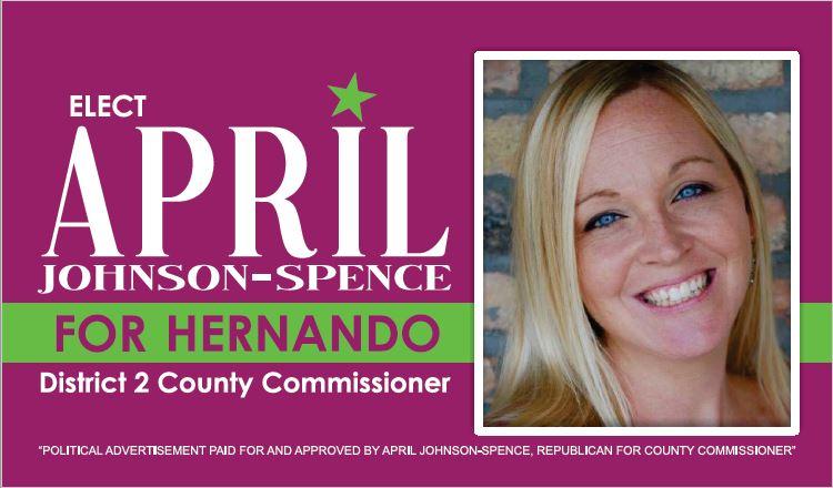 April Johnson-Spence Campaign