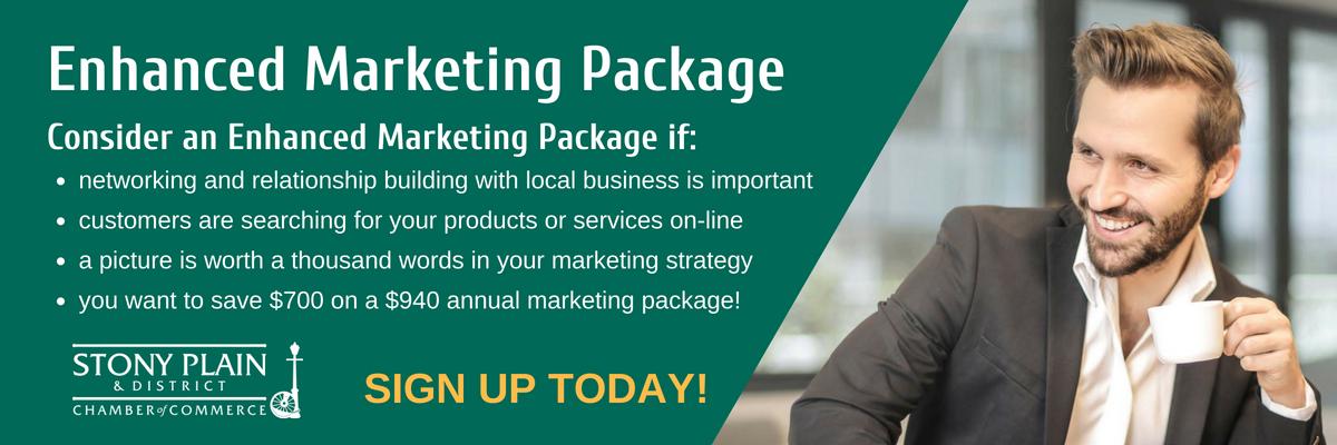 Enhanced Marketing Package Banner