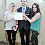 New Member Certificate Presentations
