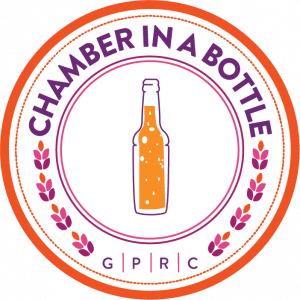 Chamber in a Bottle Logo - White Background