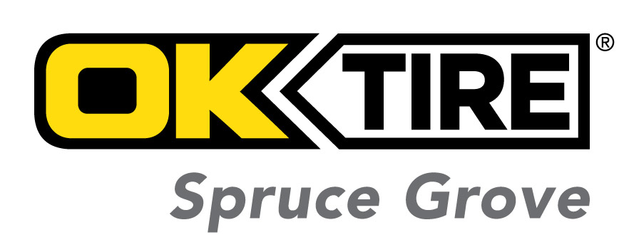 OK Tire Spruce Grove logo