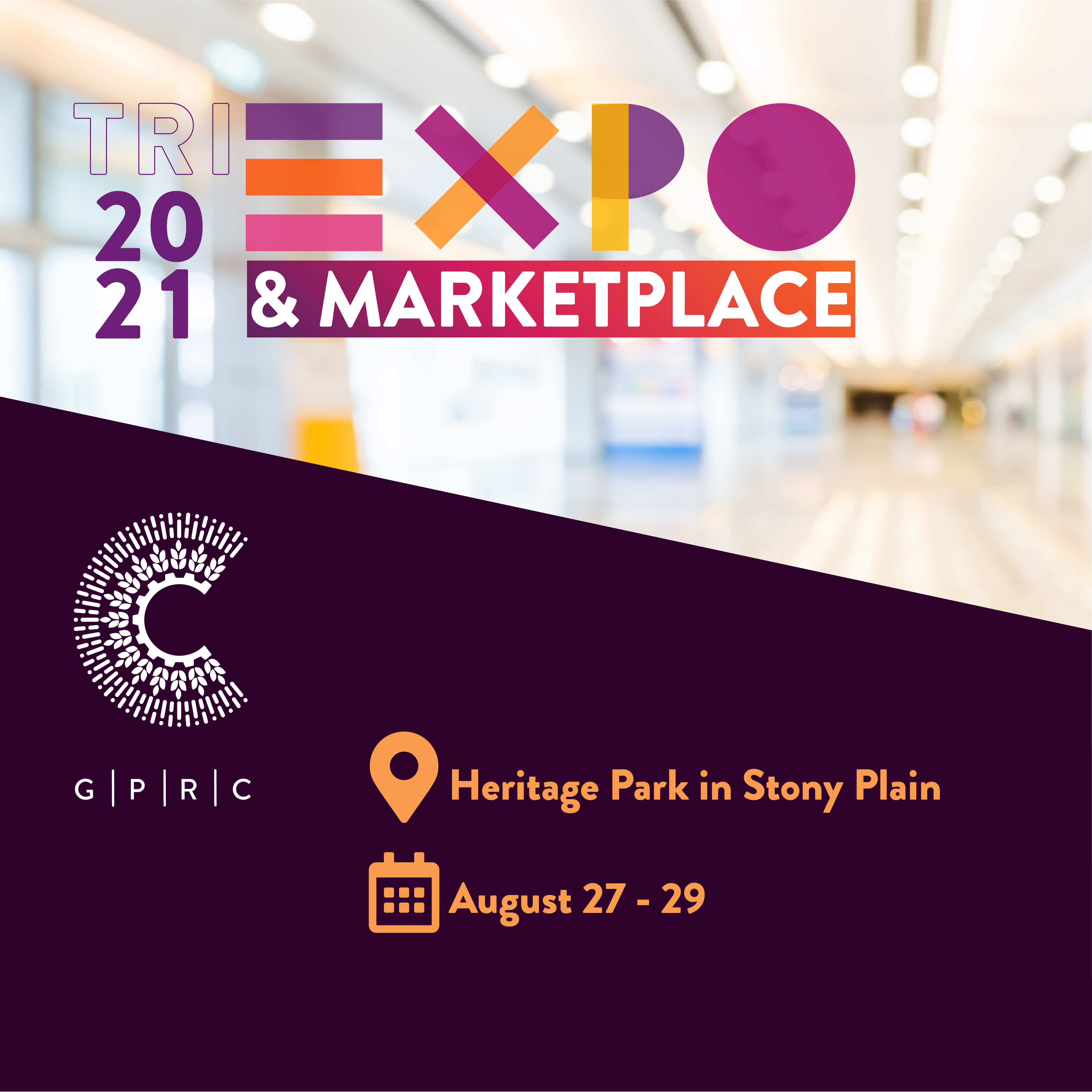 Expo with location and dates 1080x1080
