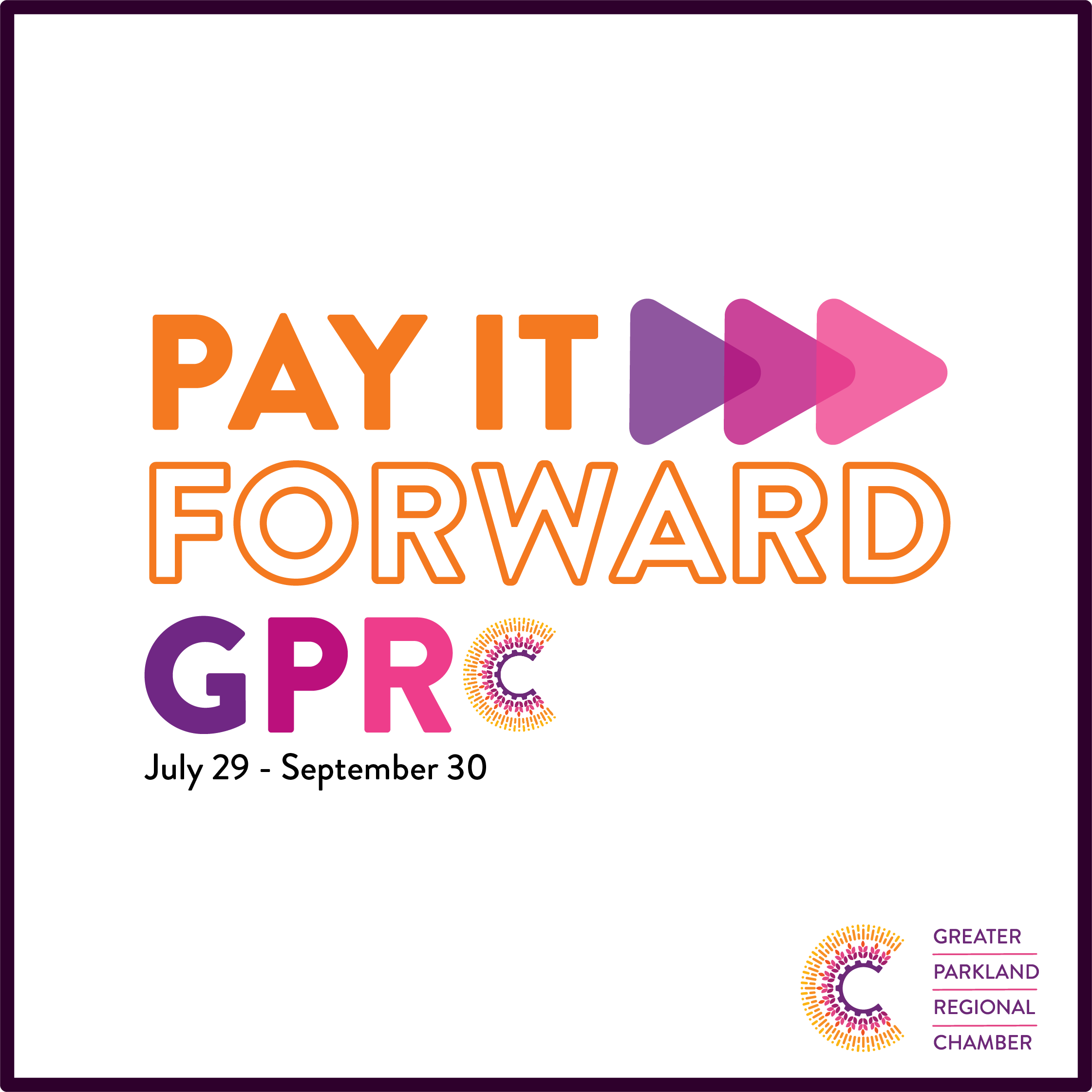 Pay It Forward GPRC