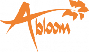 AbloomLogo_Orange_KO