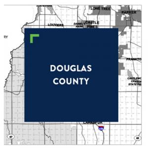 Douglas county map icon